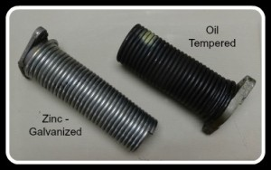 Oil Tempered Springs vs Galvanized Springs
