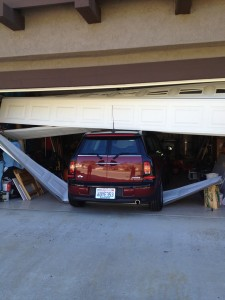 Sometimes you need a new garage door!