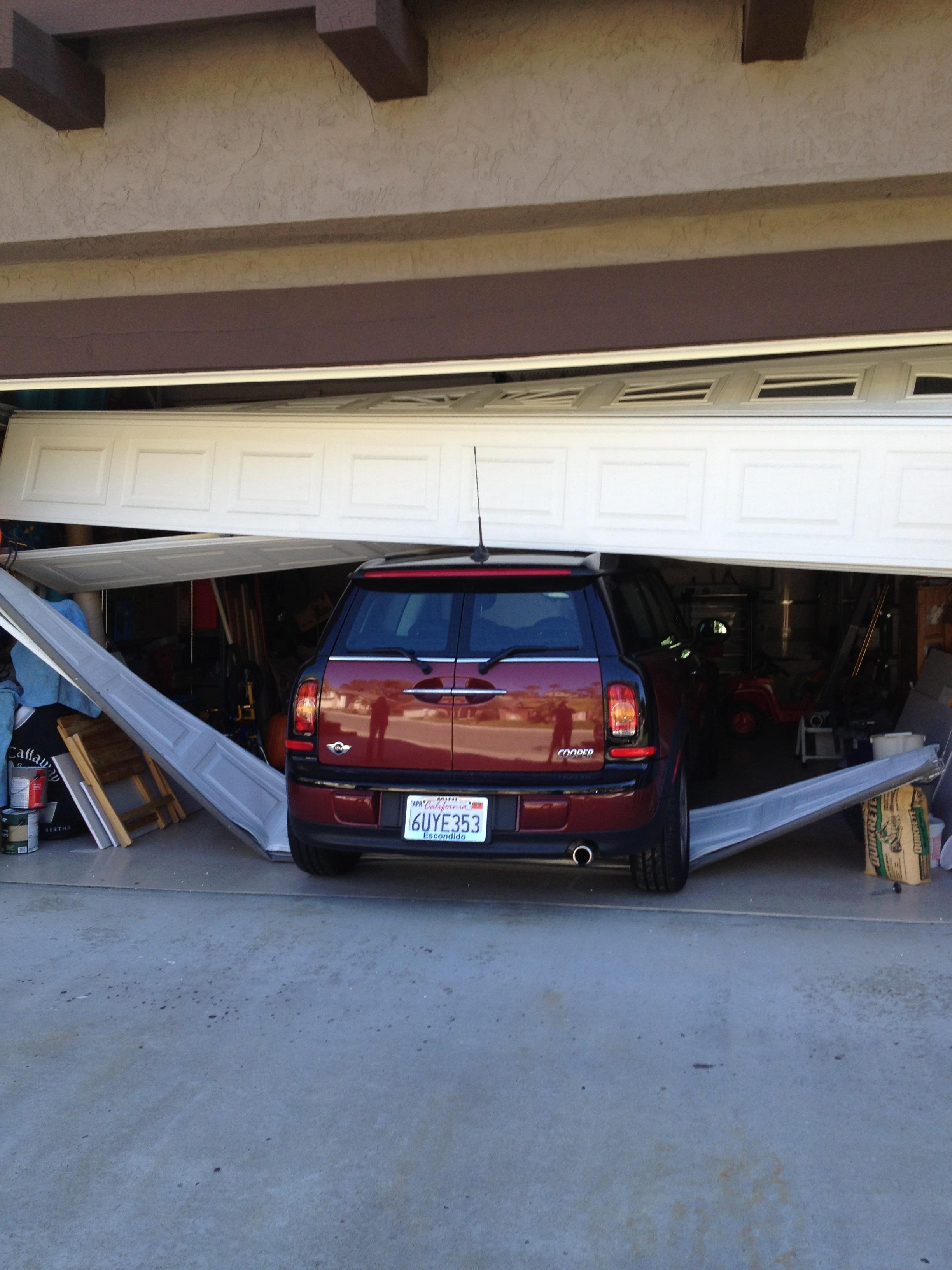 garageaddition and doors addition look a new garage sam
