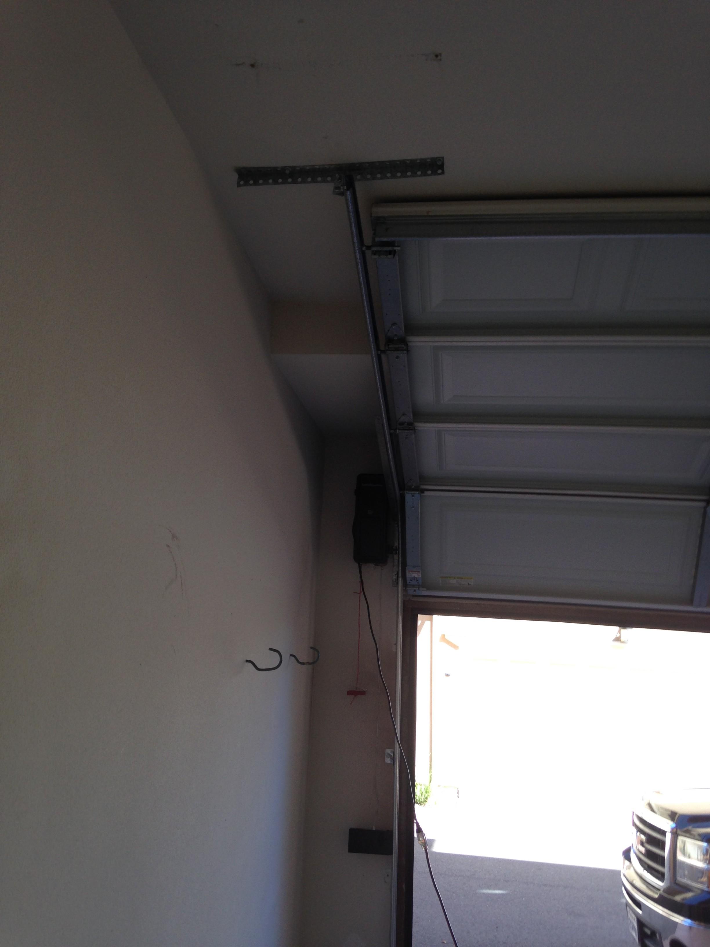 What Is A High Lift System Garage Door Man Garage
