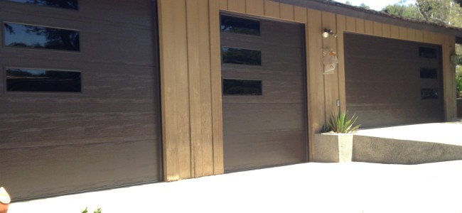 installation modern door leesburg use elkhart doors style garage in