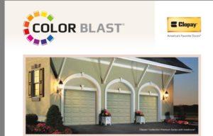 clopay color blast