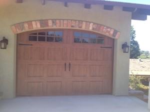 Chuck's finished door/garage add on