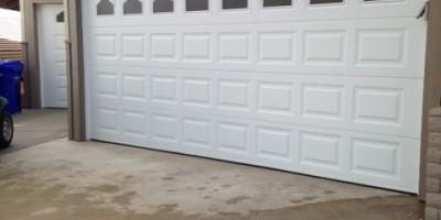 Troubleshooting a garage door opening