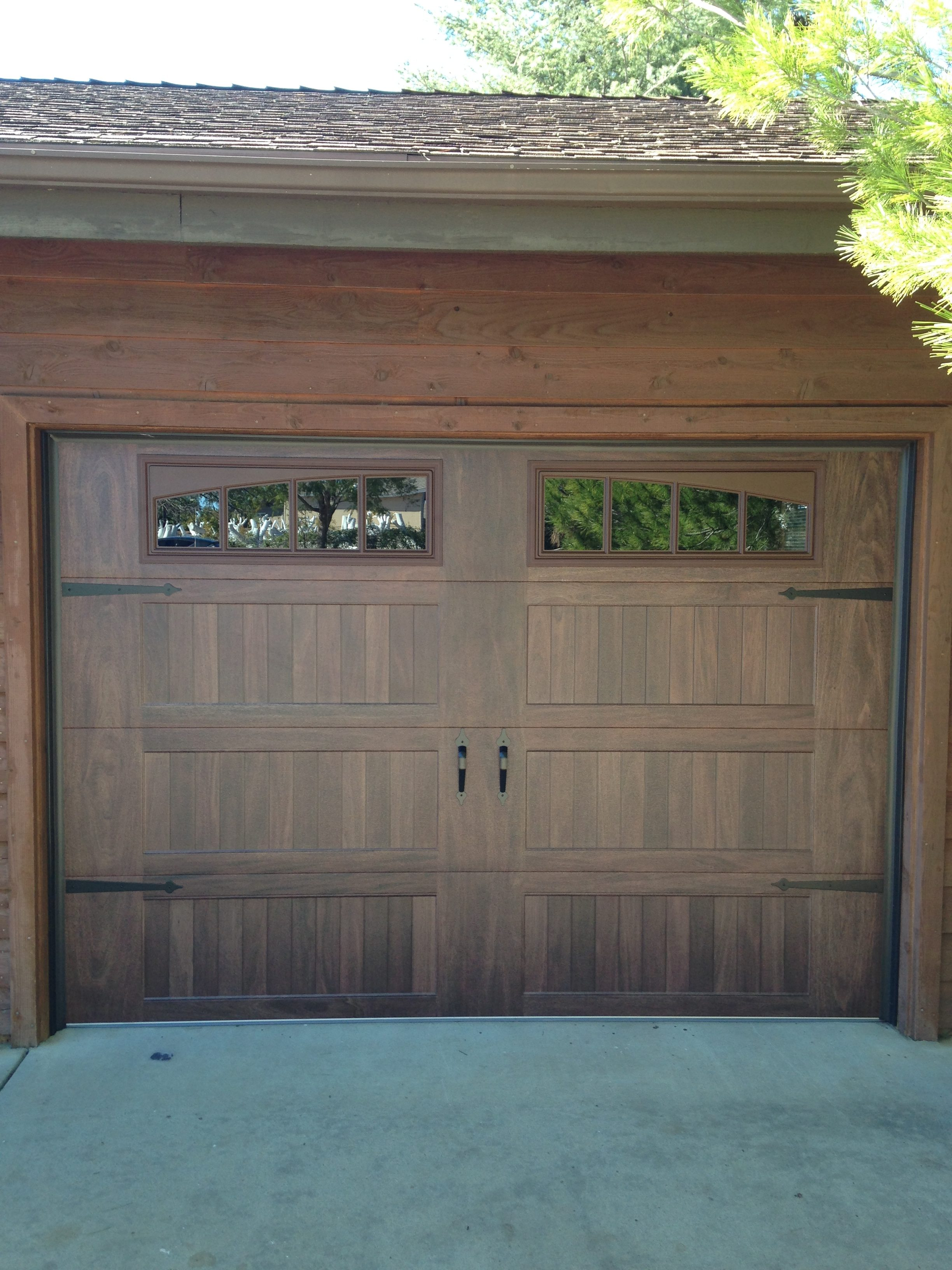 Chi Woodtones And Plank Doors Garage Door Man Garage